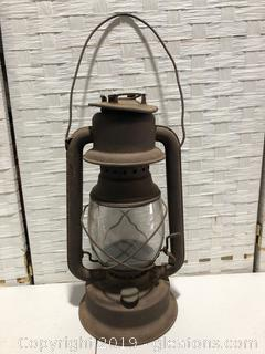 Made by Smr Bury Numbered Antique Oil Burner Lantern