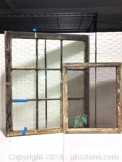 Lot of Old Windows and Screen