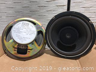 """Brand New Speco 8"""" Coaxil Speaker"""