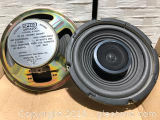 Brand New Lot of Sterco Speakers Made by Speco