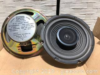 Lot of Brand New Speco Sterco Speakers