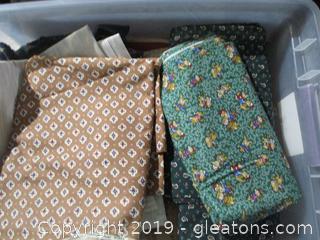 Fabric Lot G