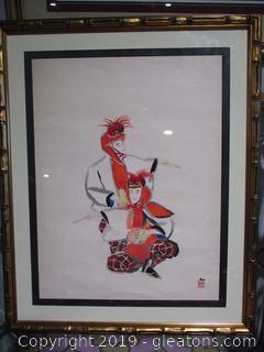 Original Asian Watercolor