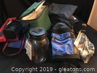 Mixed lot of bags and other things some new