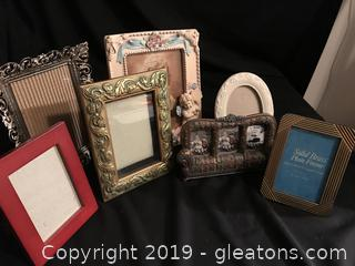 7 picture frames