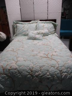 Custom Queen Bedding Set