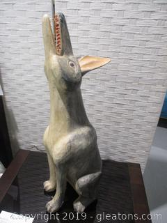 Folk Art Coyote