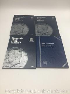 John F Kennedy Half Dollar Collection Sets