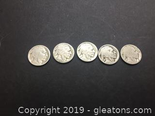 Buffalo Nickels B