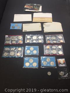 Lot of US Mint Collectors Coins