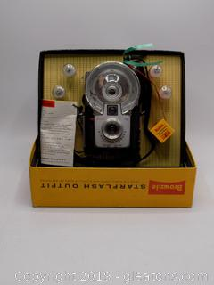 Vintage Kodak Brownie Star Flash Outlet