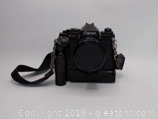F-1 Canon Camera With Strap