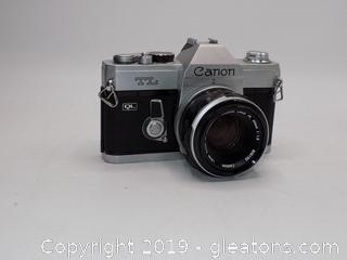 Canon TL 35mm SLR Film Camera