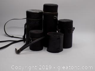 Vintage Camera Lens Lot