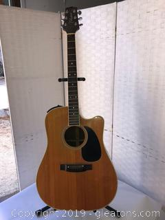 Takamine Six String Acoustical Electric Guitar