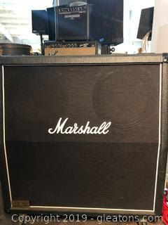 Made by Marshall Amplifier on Caster Wheels