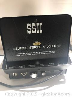 Made by SSI Super Strobe 4 Joule Stage Light