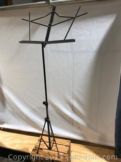 Music Sheet Stand Made of metal made by on Stage Stands