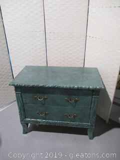 2 Drawer Night Stand A