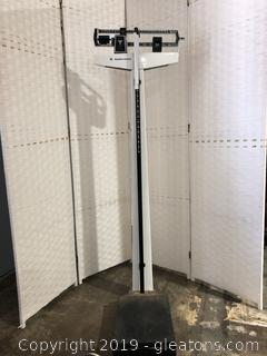 Vintage Weight Scale by Health o Meter