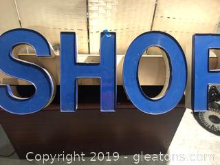 Sign (Shop) Electric