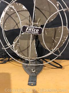 Vintage Metal Fan by Fasco