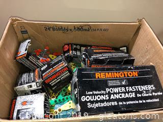 Remington Fasteners (Lot)