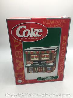 Vintage Coca-Cola Town Square Collection Publix Food Store