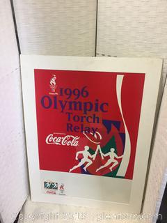 1996 Olympic Torch Relay Coke AD Atlanta