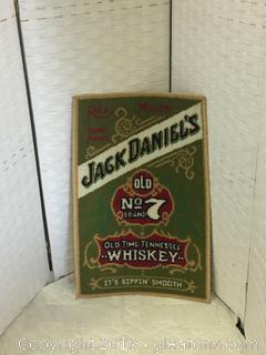Jack Paniels Old 27 Whisky Rug