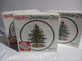 Spode Christmas Place Setting # 2
