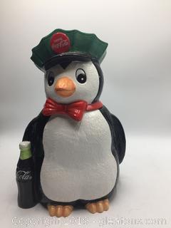 1997 Penguin Coca Cola Delivery Man