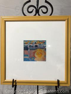 Framed Abstract Wall Art by Artisan Beverly Key