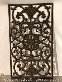 Heavy Cast Iron Art