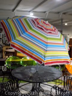 Colorful Patio Umbrella