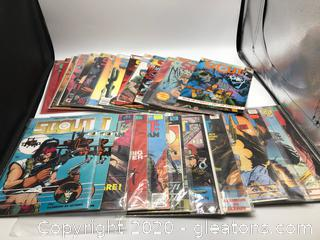 Lot of Scout Comic Books