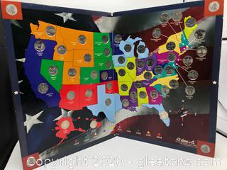 United States Quarters Map
