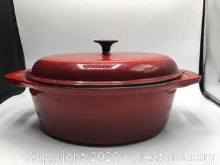 Very Heavy Oval Stone Wave Cooker