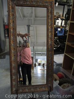 Beautiful Framed Beveled Mirror