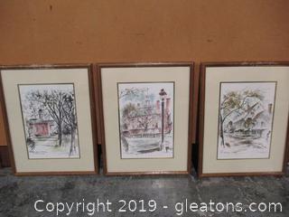 John Haymson Signed Watercolor Original