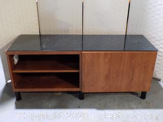 Ikea Television Stand with Glass Cover
