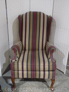 Queen Ann Style Accent Chair
