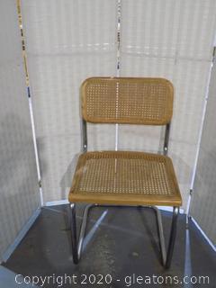 Mid Century Marcel Breuer Cane Cesca Chair