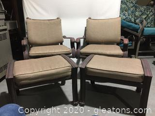 Made by Coleman Outdoor Seating 4pc