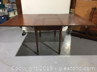 Vintage  Large Drop Leaf Table