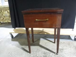 Vintage Sewing Machine Cabinet (Cabinet Only )