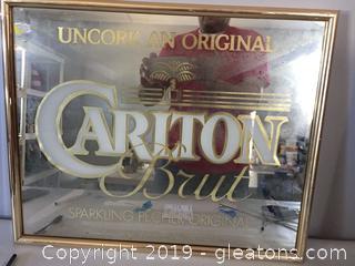Carlton Brut Mirror
