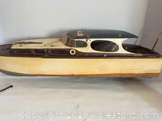 Wooden Handmade Boat