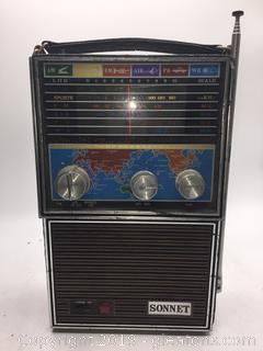 Vintage Sonnet Radio