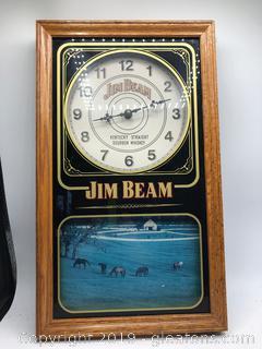 Jim Beam Clock